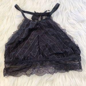 NWOT Aerie Black Lace Bralette
